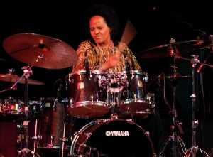 Drummer Terri Lyne Carrington performs on stage at the XVI Jazz Festival in Valencia